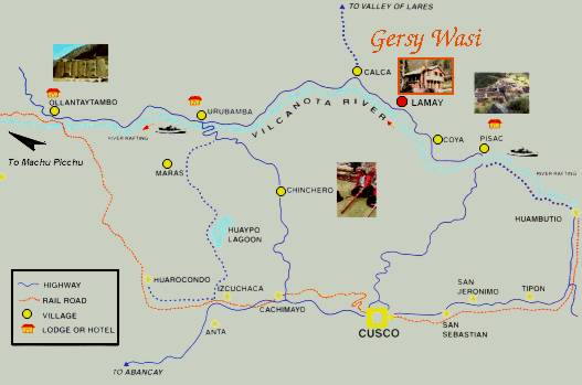 map sacred valley